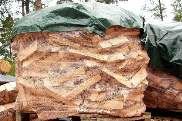 1m3 koivuklapia polttopuuta