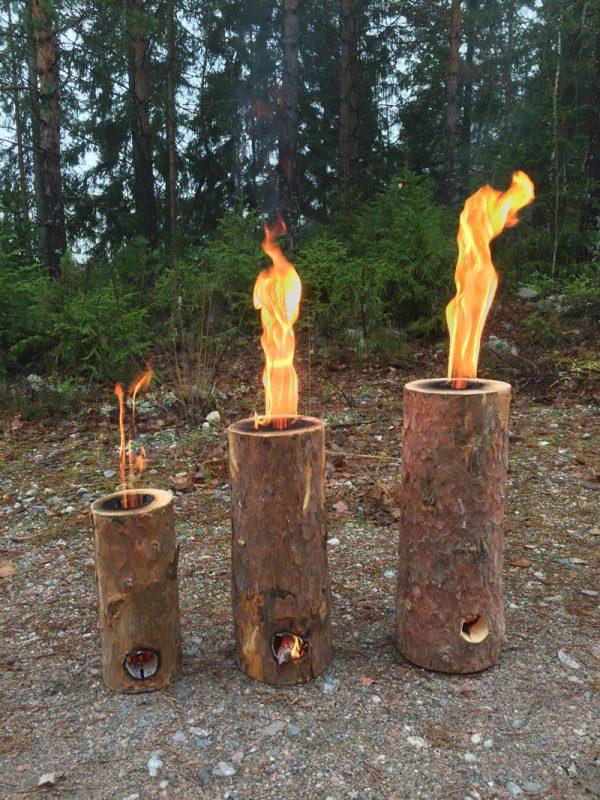 Jätkänkyttilät palamassa