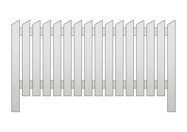 Jalmari aitaelementti 195 x 95 cm